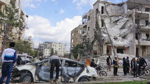 Twin bombing kills at least 16 civilians in Syria's Idlib – monitor