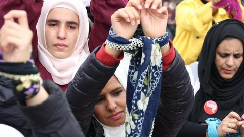 Istanbul hosting meeting on jailed Syrian women