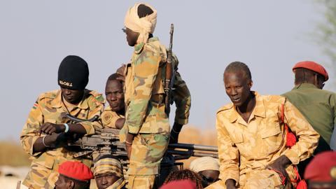 Western powers warn of violence in South Sudan