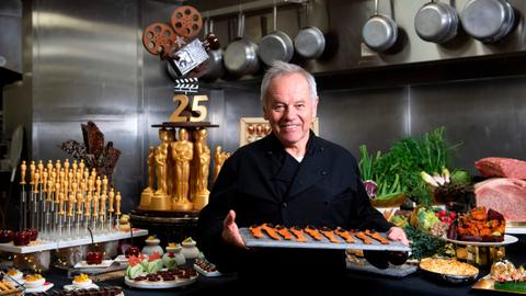 Oscars chef cooks up a storm for the big night