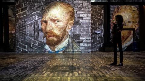 Absorbing Vincent: Van Gogh goes immersive in Paris exhibition