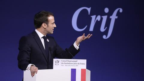 Does anti-Zionism count as anti-Semitism, as Macron suggests?