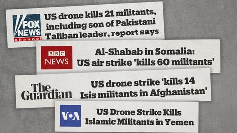 When official narratives on drone strikes become the sole reported truth