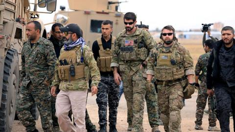 Pentagon: Few hundred US troops to remain in Syria after withdrawal