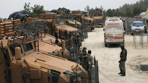 PKK propaganda machine aims to defend terrorist attacks in Afrin