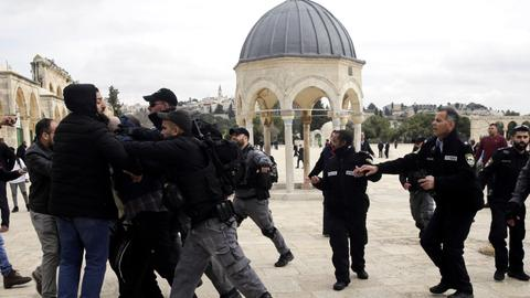 What Israel says through its recent crackdown on Al Aqsa Mosque