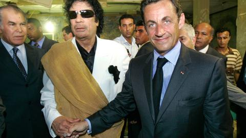 Former French leader Nicolas Sarkozy haunted by Gaddafi's spy
