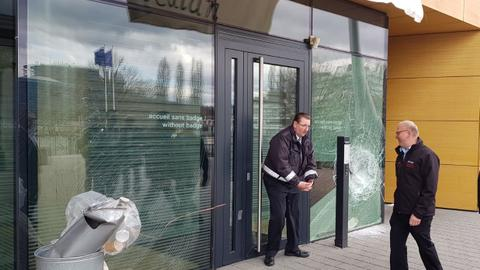 PKK sympathisers attack police, vandalise Council of Europe building