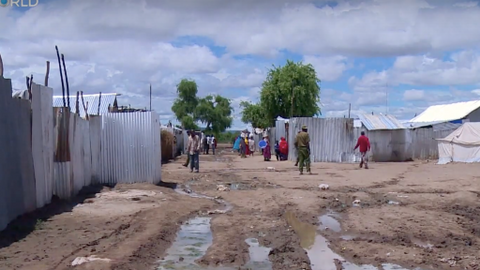 Human waste turned into fuel briquettes at Kenyan refugee camp