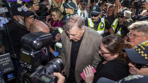 Convicted Cardinal Pell remanded in custody until March 13 sentencing