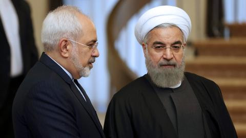 Iran's president rejects FM Zarif's resignation
