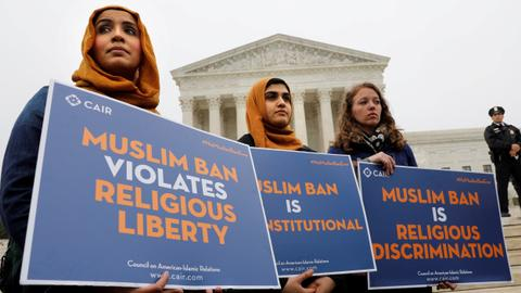 The greatest trick Trump pulled was making people forget the Muslim ban
