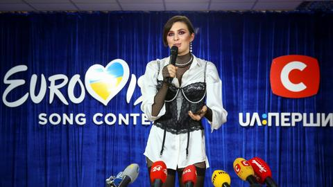 Ukraine pulls out of Eurovision contest after Russia row