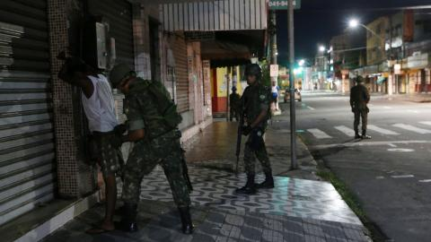 Brazil's restive state asks for more troops as violence continues
