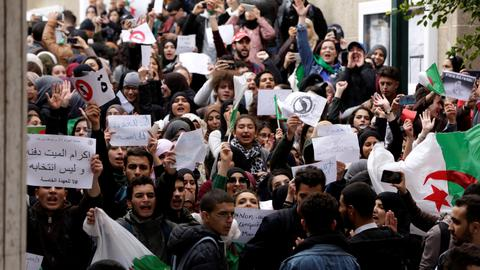 Is Algeria facing a late bloom of Arab Spring uprisings?