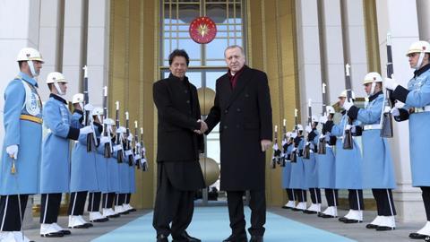 Erdogan and Khan discuss Kashmir tension