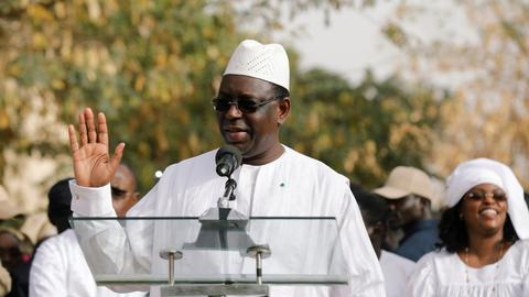 Senegal's president wins second term