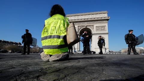France's Yellow Vests protest Macron's 'pro-rich' policies