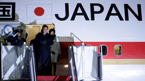 Japan's Prime Minister Abe and Trump meet in Washington on Friday