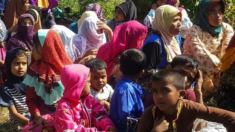 Bangladesh to relocate Rohingya to remote islet