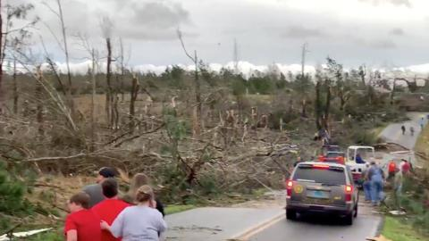 Tornado kills several people in Alabama