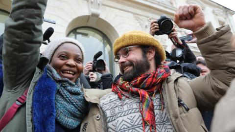 A French farmer was convicted for helping refugees. What did he do?