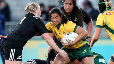 Australia women's rugby captain banned for biting