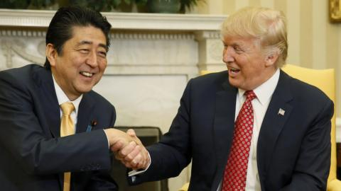 Trump says US committed to Japan's security