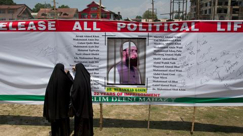 Kashmir's prisoners of dissent