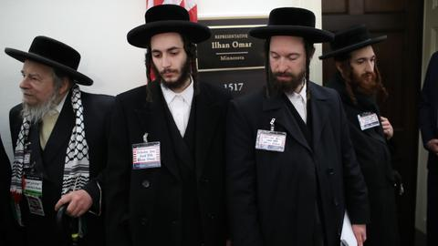 Orthodox Jews in US express support for Ilhan Omar