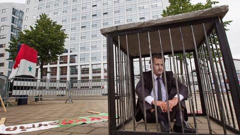 Groundbreaking case filed against the Assad regime at the ICC
