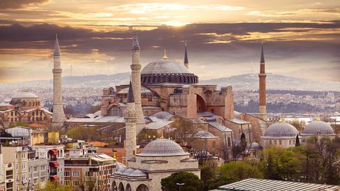 The law, and origin story of Istanbul's iconic Hagia Sophia