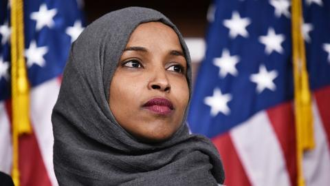 Ilhan Omar hits back at Trump over 9/11 tweet attack