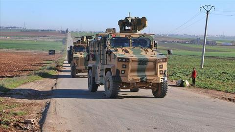 Armies of Turkey, Russia patrol around Syria's Idlib