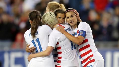 Women soccer players sue for equal pay