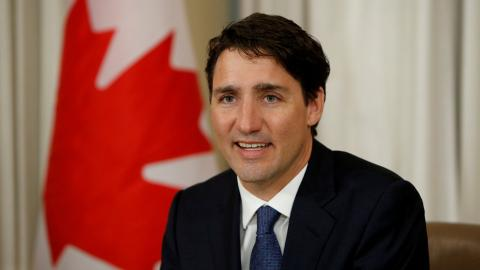 Justin Trudeau makes first visit to Washington