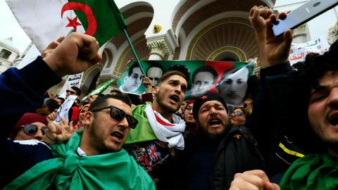 Protests-hit Algeria puts students on holiday