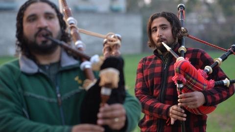 Pakistan — the other great home of the bagpipes