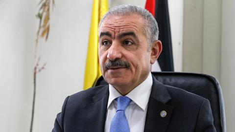 Palestinian president appoints ally Shtayyeh as new PM