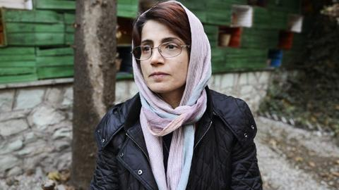 Iranian human rights lawyer sentenced to 38 years, 148 lashes