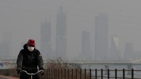S Korea steps up fight against pollution, says problem is 'social disaster'