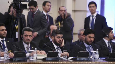 Second round of Syria talks in Astana delayed by a day