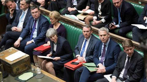 UK lawmakers vote against no-deal Brexit, aim for delay