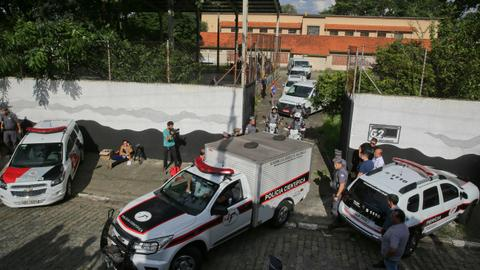 At least 10 killed in Brazil school shooting including two suspects