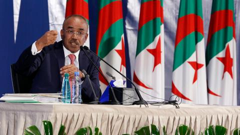 Algerian PM says cabinet to be formed early next week
