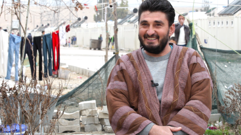 From torture victim to mayor of a refugee camp
