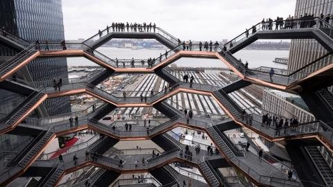 New York's $25 billion Hudson Yards development opens