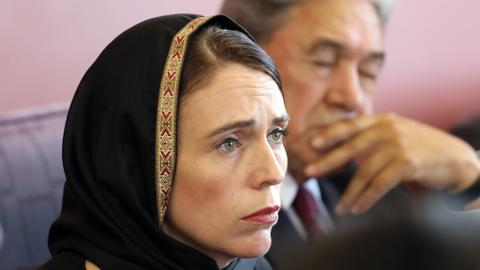 Jacinda Ardern shows resolve, empathy after mosque massacre