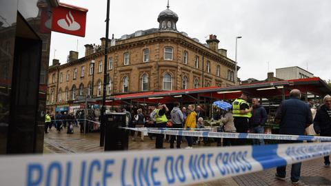 Stabbing near London is far-right terrorism, UK police say