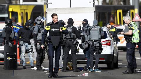 Dutch police arrest man suspected of killing three in tram shooting